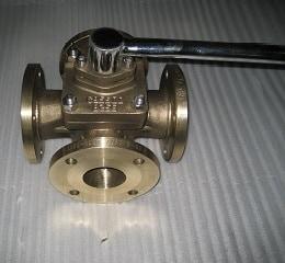 4 way sleeved plug valve